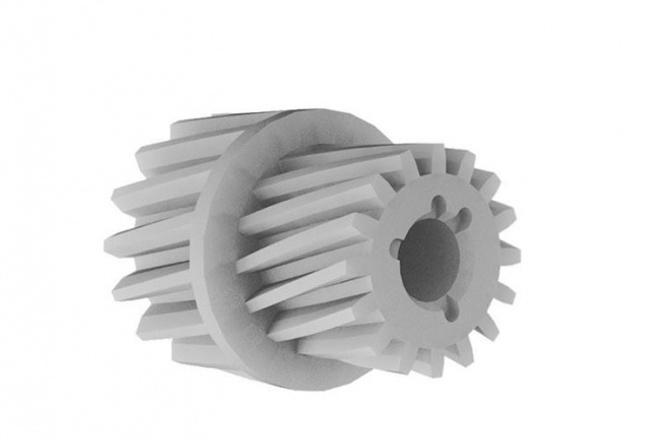 3D моделированиеФлеш и 3D-графика<br>моделирования детали простой прямолинейной формы для производства презентации и 3d печати, в подарок чертёж для производства<br>