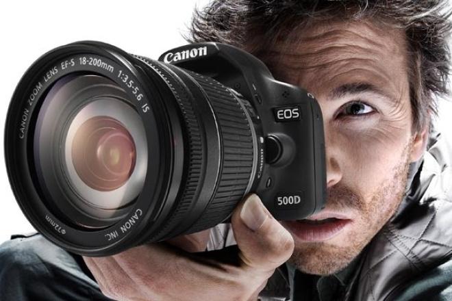 Расскажу основы работы с зеркальной камерой 1 - kwork.ru