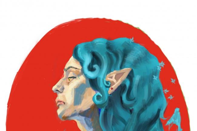 Нарисую CG портрет 1 - kwork.ru