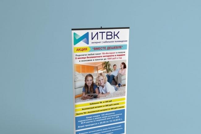 Афиша, Постер, Плакат 1 - kwork.ru