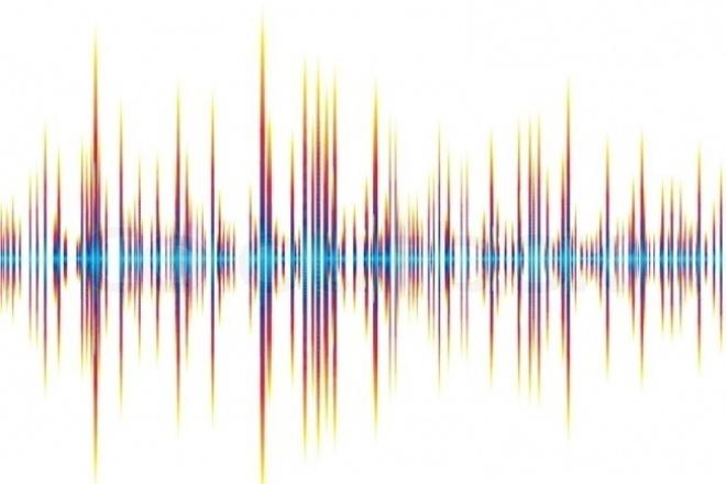 Помощь дикторам по обработке аудио записей 1 - kwork.ru