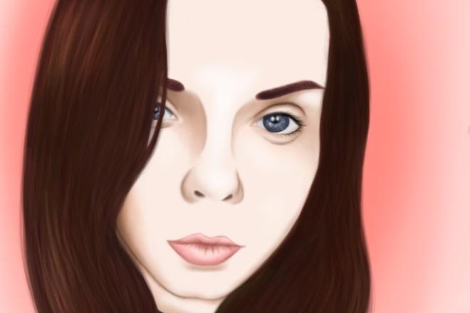 Цифровой портрет, портрет в стиле поп-арт 1 - kwork.ru