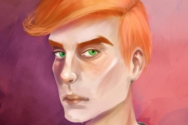 Нарисую портрет 1 - kwork.ru