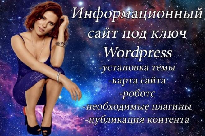 Информационный сайт Wordpress от Лабиринта 1 - kwork.ru