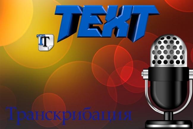 Переведу аудио или видео в текстНабор текста<br>Сделаю расшифровку (транскрибацию) текста с видео или аудио: лекции, конференции, вебинары и т. д. Есть опыт работы в данном деле!<br>