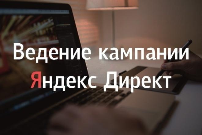 Ведение рекламной кампании в Яндекс. Директ 1 - kwork.ru