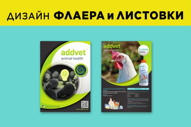 Разработаю креативный дизайн Флаера и Листовки 3 - kwork.ru