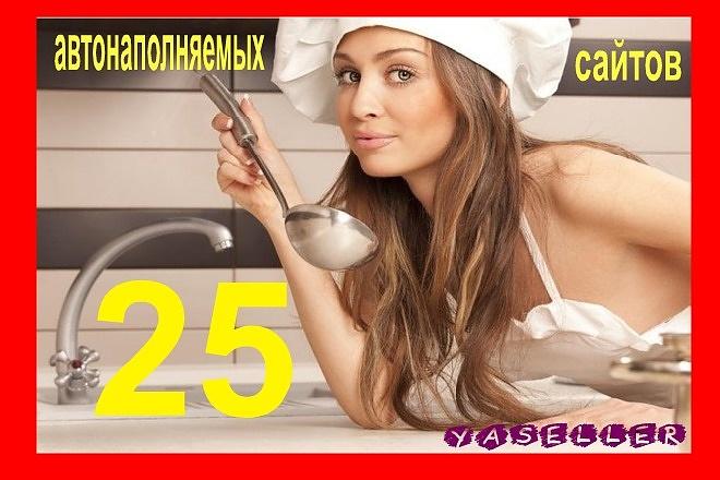 Еда, кулинария, рецепты 25 wordpress сайтов оптом за 500 рублей бонус 16 - kwork.ru