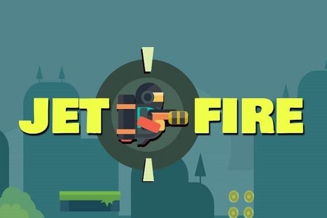 Исходник игры Jet Fire. Unity 1 - kwork.ru