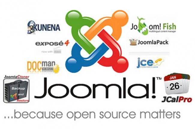 Доработка, исправление сайтов на Joomla 1 - kwork.ru