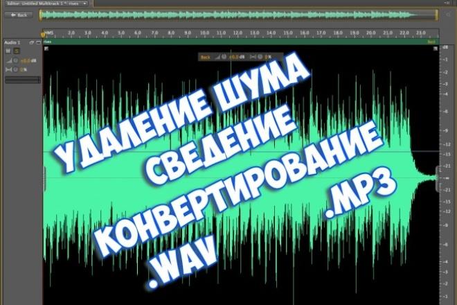 Обработую аудиоРедактирование аудио<br>Окажу следующие услуги: 1 . Чистка от шума. 2 . Конвертирование в нужный формат(.mp3, .wav и другие.) 3 . Укорачивание дорожки 4 . Объединение нескольких дорожек. 5 . Могу сделать грубый голос как в хоррор трейлерах) 6 . Увеличение массивности голоса(для мужского голоса)<br>