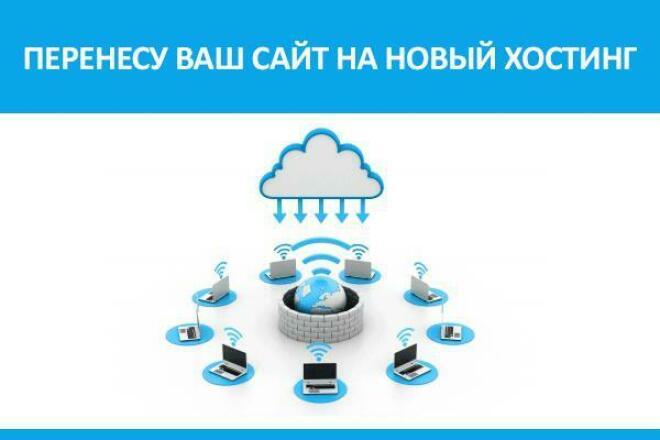 Перенос сайта на новый хостинг или vds с настройкой 1 - kwork.ru