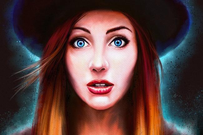 Напишу цифровой портрет любой сложности и в любой стилистике 1 - kwork.ru