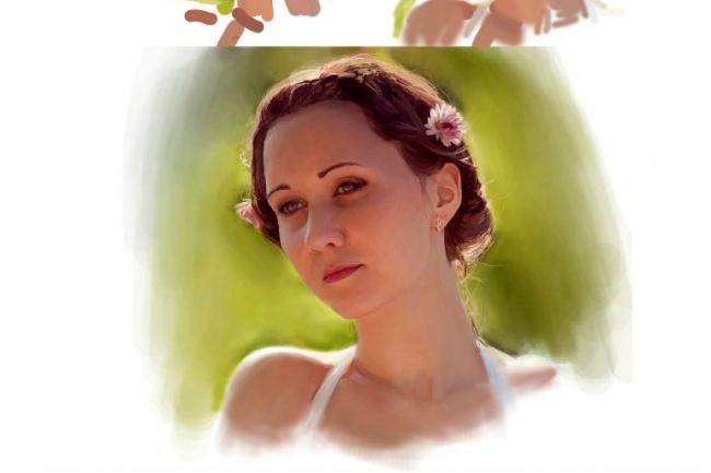 Нарисую портретИллюстрации и рисунки<br>Нарисую портрет в цифровом (photoshop) или бумажном варианте. Возможна замена фона, добавление надписей и других деталей.<br>
