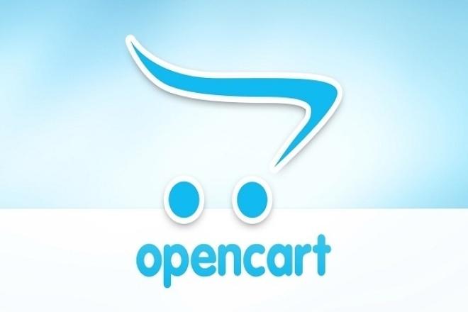 Настройка интернет-магазина на OpenCart 1 - kwork.ru