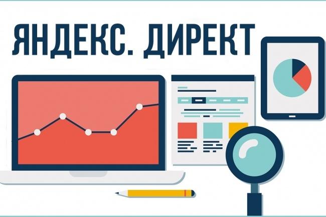 Создам и настрою контекстную рекламу Яндекс Директ 1 - kwork.ru