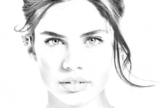 Сделаю портрет по фотографии 1 - kwork.ru