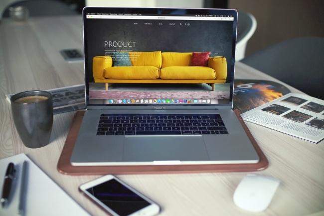 Уникальный дизайн страницы для вашего сайта 1 - kwork.ru