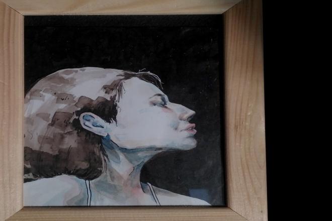 Напишу портрет акварелью 1 - kwork.ru