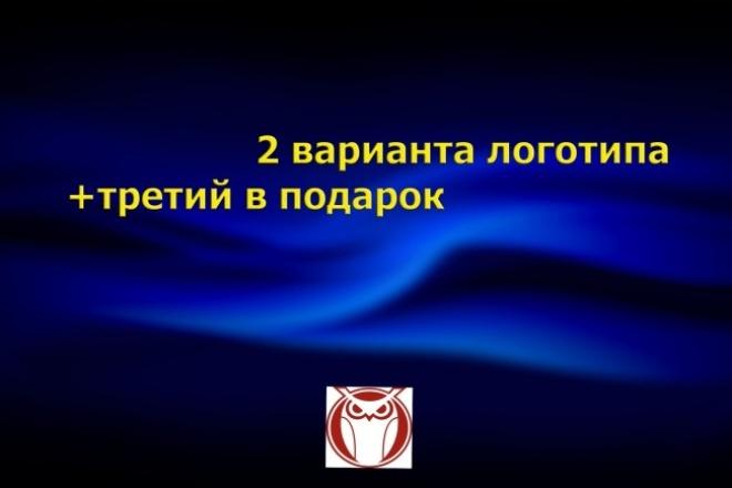 Создам два логотипа плюс один в подарок 1 - kwork.ru