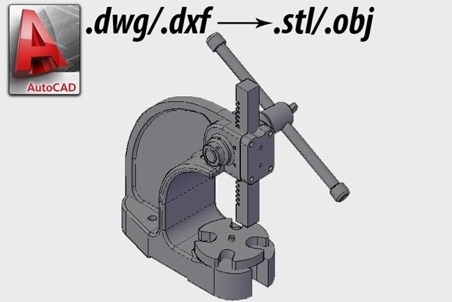 Создание 3D моделей для ЧПУ в AutoCAD 1 - kwork.ru