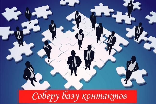 Создам базу контактов под ваши индивидуальные требования 1 - kwork.ru