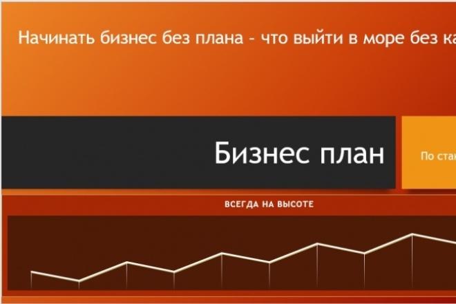 Составлю бизнес-план мини 1 - kwork.ru