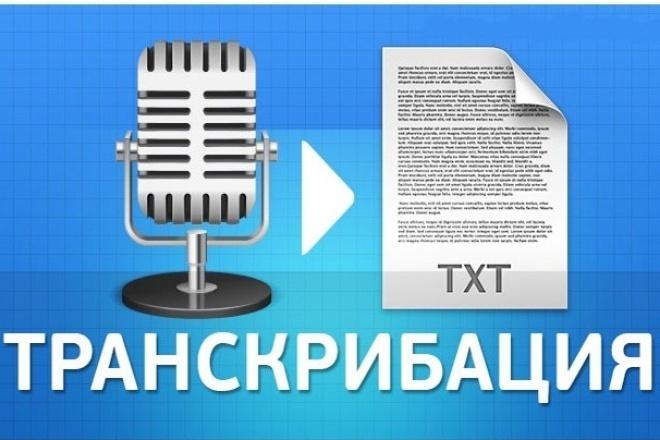 Транскрибация, перевод из аудио в текст, перевод из видео в текстНабор текста<br>Здравствуйте. Предлагаю вам следующие услуги: Перевод из аудио(видео) в текст. Транскрибация текста. Грамотно и быстро перепечатаю текст! Дословная расшифровка записей лекций, семинаров, тренингов, видеоуроков и т.д. Работаю быстро, четко и грамотно. Настроен на продолжительное сотрудничество. Внимание! В данный кворк входит работа только с записями среднего и хорошего качества и только на русском языке. Если вам нужна работа срочно (в течение 12 часов), вам нужно заказать дополнительную услугу.<br>