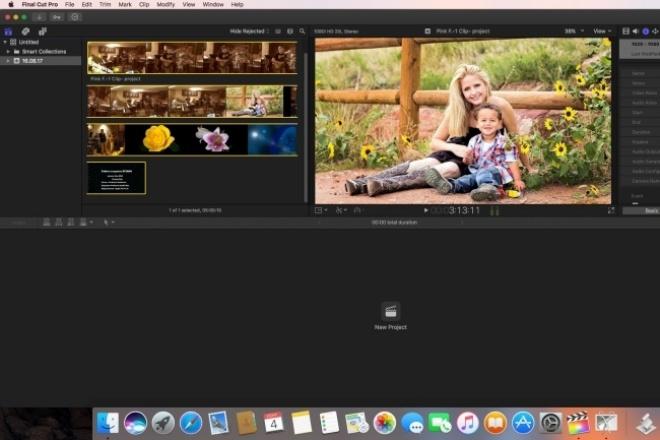 Видео монтажМонтаж и обработка видео<br>Сделаю видеомонтаж из ваших видео, фото, аудио материалов. В нужном Вам формате , переходы, эффекты, цветокоррекция.<br>
