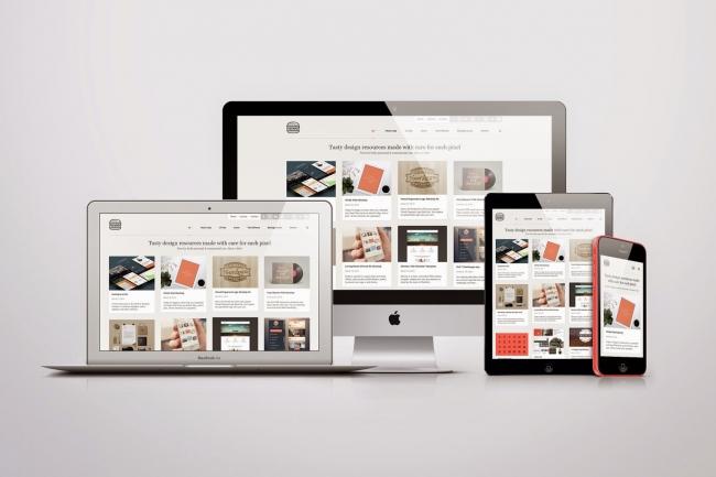 Современный дизайн сайта, Landing Page 1 - kwork.ru