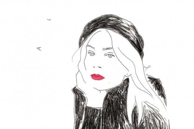 Нарисую скетч, портрет по фотографии 1 - kwork.ru