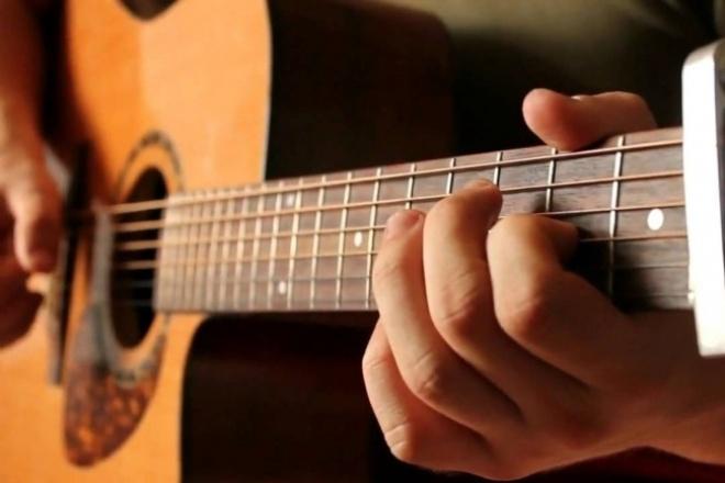 Запишу партию соло электро или акустической гитары 1 - kwork.ru