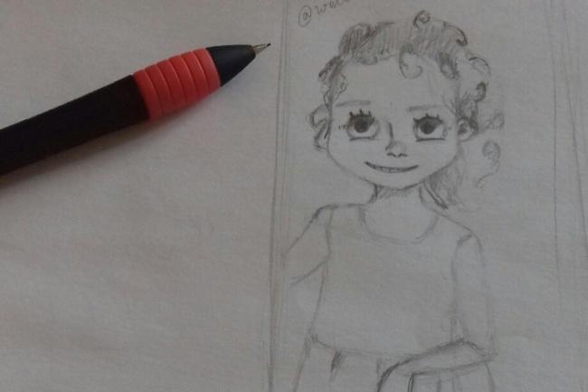 Нарисую скетч 1 - kwork.ru