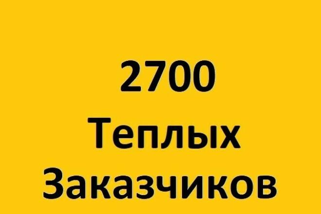 База строительных организаций 2018 1 - kwork.ru