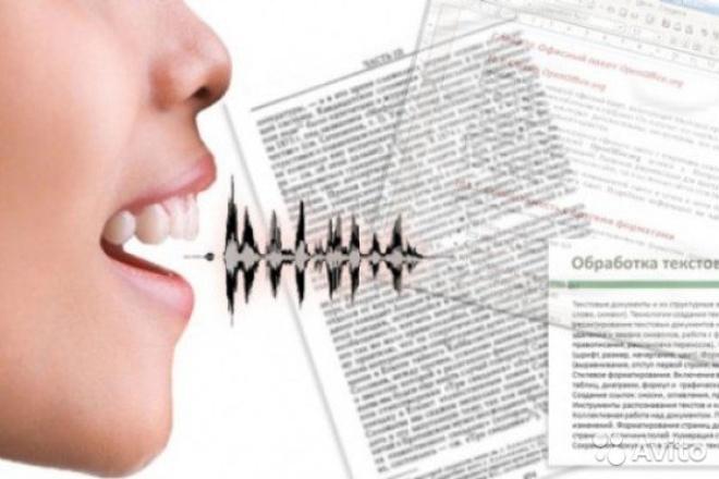 Транскрибирование аудиозаписейНабор текста<br>Переведу аудио-файл в текстовый файл. Отредактирую текст в соответствии с правилами грамматики, сделаю его вкусным и читабельным. В один кворк входит одна аудиозапись до 60 минут. Цена может увеличиваться в зависимости от качества аудиозаписи и ее продолжительности. Транскрибирование аудиозаписи в 60 минут занимает около 8-10 часов.<br>