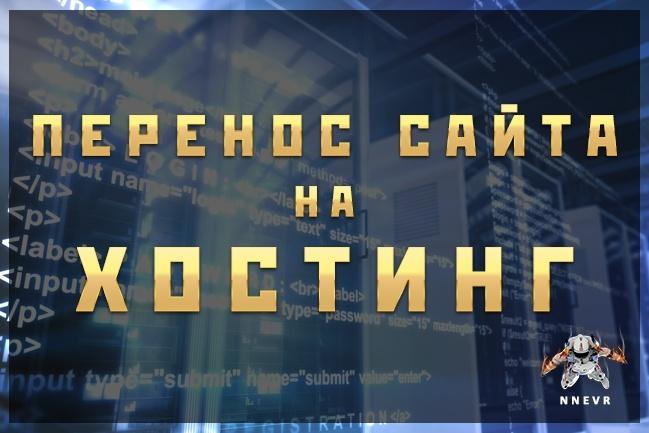 Поставлю игровой сервер на хостинг. Перенесу сайт с хостинга на хостинг 1 - kwork.ru