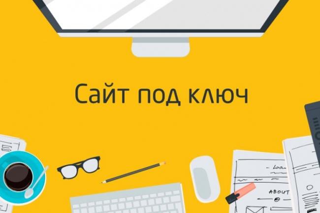 Создам сайт на интересующей вас CMS MODX, WP или без CMS 1 - kwork.ru