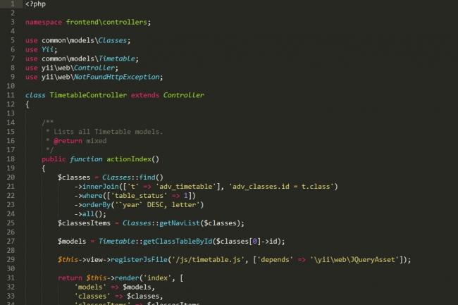 Создание php сайта для работы создания сайт визитка москва