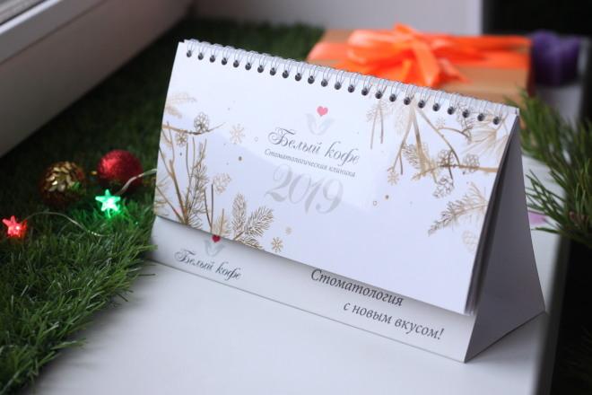 Создам календарь настольный, подарочный сертификат, открытку 3 - kwork.ru