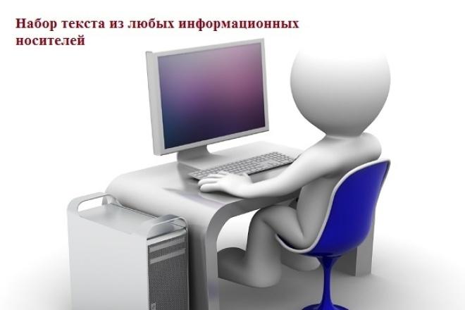Набор текста 1 - kwork.ru