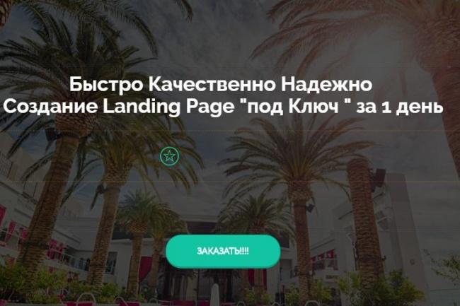 Одностраничник на Платформе LP в 2 экрана 1 - kwork.ru