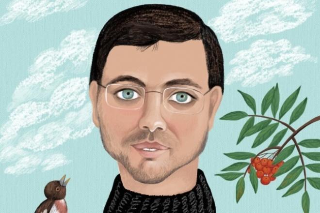 Нарисую дружеский шарж 1 - kwork.ru