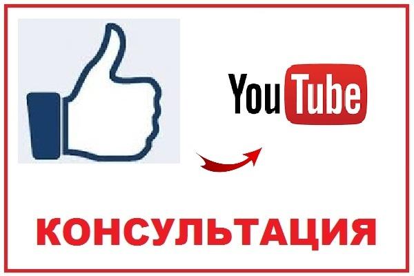 Консультация по работе с YouTube 1 - kwork.ru