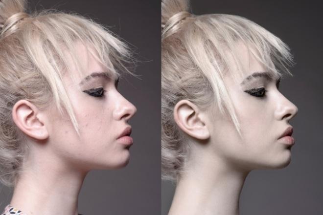 Профессиональная ретушь фотографийОбработка изображений<br>Быстро обработаю 5 ваших фотографий. Что делаю в процессе обработки: - цветокоррекция, добавление глубины изображению за счет прорисовки свето-теневого рисунка; - ретушь кожи (удаление недостатков и дефектов, сглаживание морщин, отбеливание зубов и прочее); - добавление резкости; - при необходимости обрезка изображения и т.д.<br>