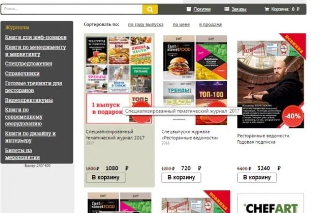 Доработка и редизайн сайта 1 - kwork.ru
