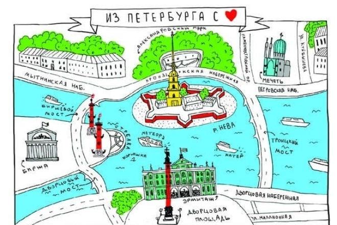 Открытка из Санкт-Петербурга Вашим родным и близкимИнтересное и необычное<br>Самые красивые открытки с видами города и просто приятными изображениями! Вы можете выбрать любую открытку из каталога известного книжного магазина - Буквоеда, вот каталог доступных открыток: http://www.bookvoed.ru/books?genre=648 Срок зависит от того, в каком именно магазине есть выбранная открытка в наличии. Открытка будет бережно вложена в конверт и отправлена по указанному Вами адресу. При желании можно вложить в конверт сувенирный магнит из этого катлога: http://www.bookvoed.ru/books?genre=400<br>