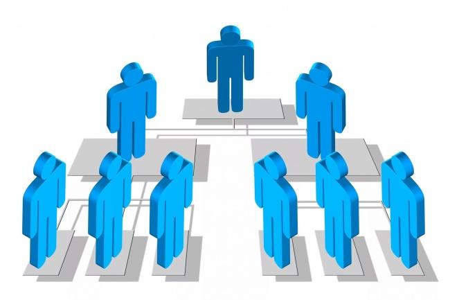 Организационная структура 1 - kwork.ru