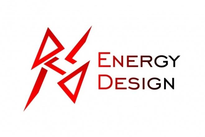 Разработка качественного логотипа.  Векторная графика 1 - kwork.ru