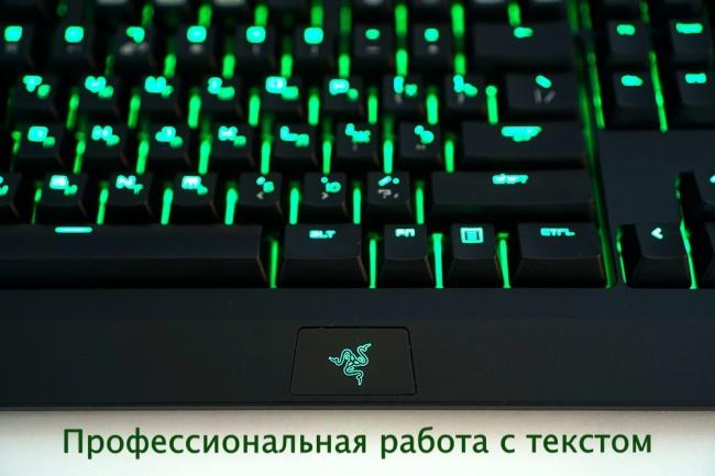 Набор текста со сканов, фото, аудио-, видео-роликов 1 - kwork.ru