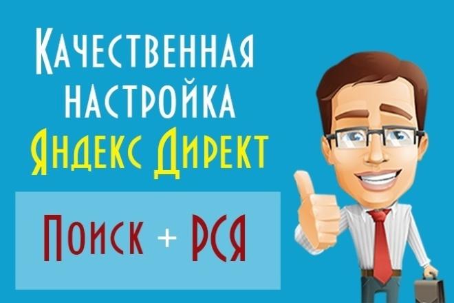 Эффективная настройка яндекс директ на 120% 1 - kwork.ru